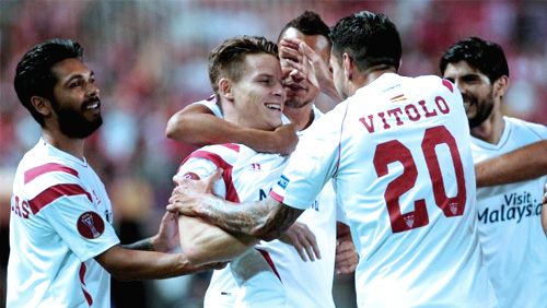 Europa League Review: Sevilla On Course For Third Title