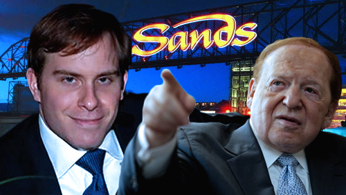 Las Vegas Sands names Adelson's son-in-law as new finance chief