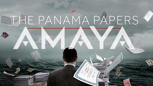 Panama Papers expose link to Amaya Gaming insider trading investigation