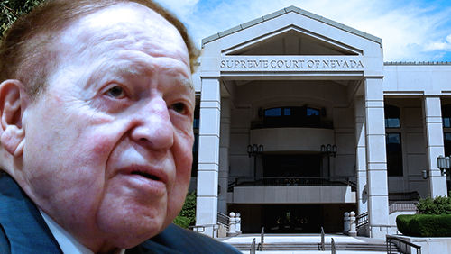 Sheldon Adelson turns to Nevada's high court in defamation case vs Jewish political group