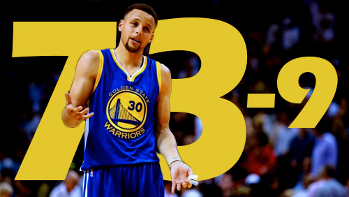 Warriors beat the odds to reach landmark 73 wins