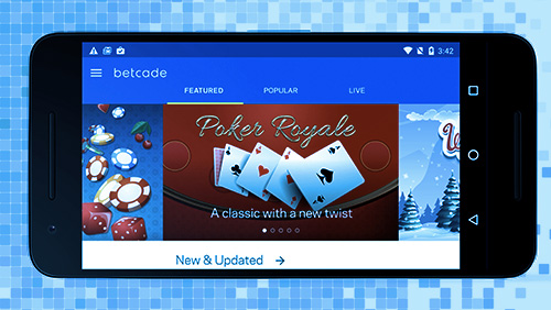 Betcade Officially Opens App Store Submissions to Operators of Real Money Gaming Apps