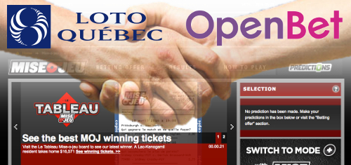 OpenBet re-ups with Loto-Quebec as the NYX/Amaya takeover of Canada continues