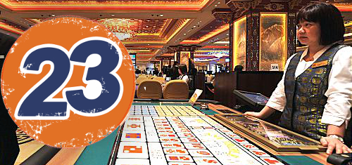 Macau casino revenue falls 23rd straight month but pace of decline cheers analysts