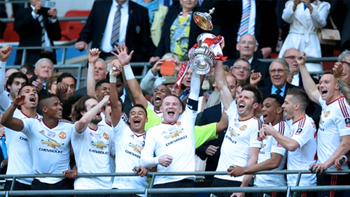 Man Utd Win the FA Cup; Too Late to Save Louis Van Gaal
