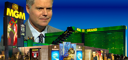 "Macau will be ""up"" in 2017 but MGM CEO ""glad I'm a Vegas-based company these days"""