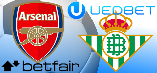 Betfair re-ups with Arsenal; Real Betis forced to cut UEDBET ties