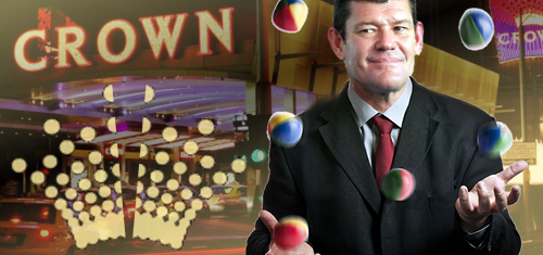 Crown Resorts to spin off int'l operations, launch real estate investment trust