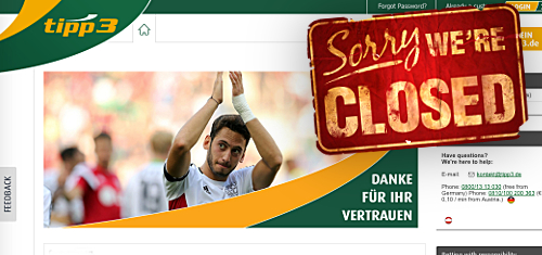 "Deutsche Telekom shuts German-facing Tipp3 betting site for ""commercial reasons"""