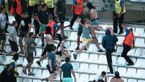 Euro 2016 Round Up: Violence Erupts in Euros