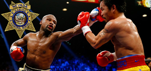 Nevada casinos undone by baccarat and the absence of Mayweather, Pacquiao