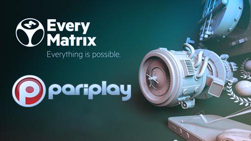 Pariplay Ltd. to Provide Games Portfolio to EveryMatrix