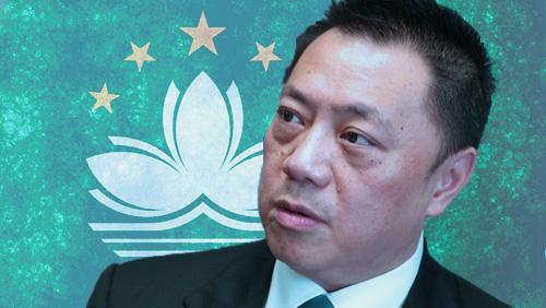 Macau secretary sees half-glass full in slumping casino GGR data