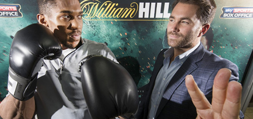 Hills in Anthony Joshua's corner; Lads inks World Series of Darts title sponsorship