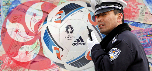 Hong Kong's Euro 2016 betting busts quadruple the total of Euro 2012