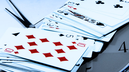 How The Threshold Model of Collective Behaviour Slows Down Poker And How Dealers Could Speed it up