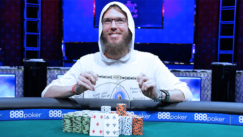 WSOP Review: Andrew Lichtenberger From Gut Bugs to Bracelets and Hugs