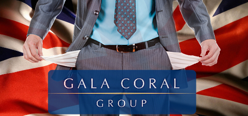 Gala Coral pleads for tax mercy after posting £25m loss