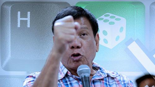 Philippine president brings anti-online gambling war to Leisure & Resorts