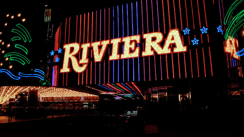 The Riviera Hotel & Casino Reduced to Rubble After 50-Years on The Las Vegas Strip