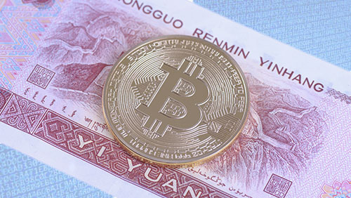 Bitcoin bounces back to $600 amid renewed fears of yuan devaluation