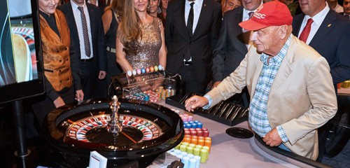 Casino ADMIRAL San Roque celebrates grand opening with Niki Lauda