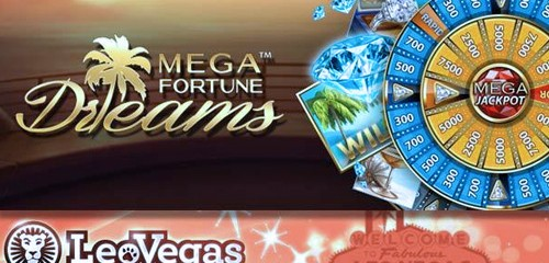 LeoVegas Winners Net Mega Fortune