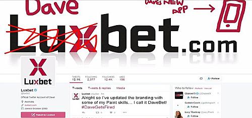 Luxbet marketing stunt behind fired employee's epic Twitter rant