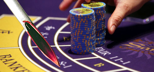 Macau gambler threatens casino winners with HIV-filled (not really) syringe