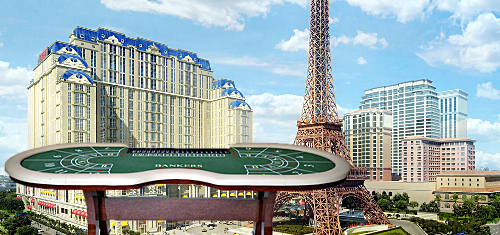 Parisian Macao poaches 310 gaming tables from other Sands properties