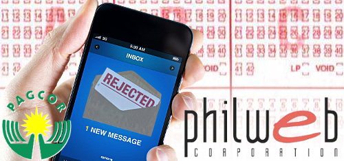 PAGCOR reject PhilWeb mobile lottery bid