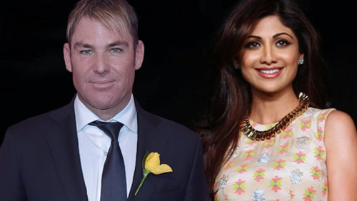 Shane Warne and Shilpa Shetty to Endorse a New Real Money Online Poker Site in India