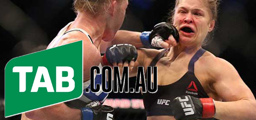 Aussie TAB inks UFC partnership; New Zealand TAB website showing its age