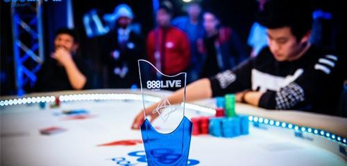 888Live London is a Resounding Success; Ka Him Li Wins The Main Event