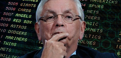 Ex-NBA commish David Stern gets a grip on 'outdated' sports betting fear