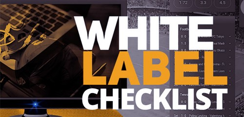 White Label Checklist