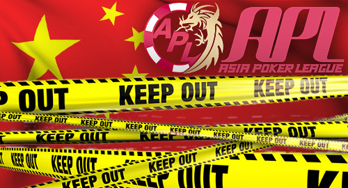 Authorities shut down Asia Poker League Shanghai event
