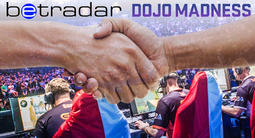 Betradar ink eSports betting data deal with DOJO Madness