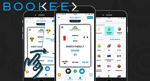 "Bookee's Tinder-style betting promises ""instant gratification"""