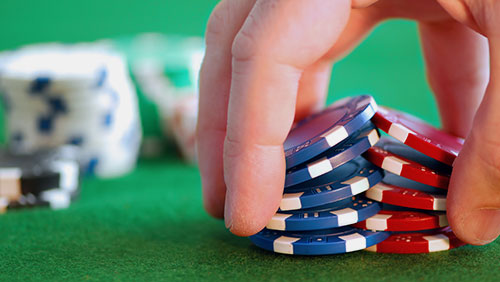 Using the triple column technique to defeat negative self-talk at the poker table