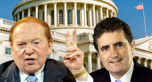 Congressman fishes for Adelson bucks with new anti-online bill