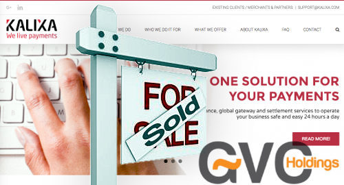 GVC sells Kalixa payments unit