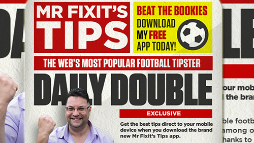Mr. Fixit rolls out app for real-time betting tips