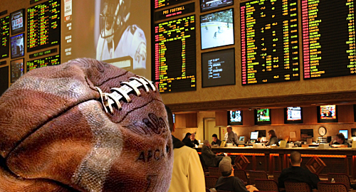 Nevada casino revenue falls as football betting slumps 77%