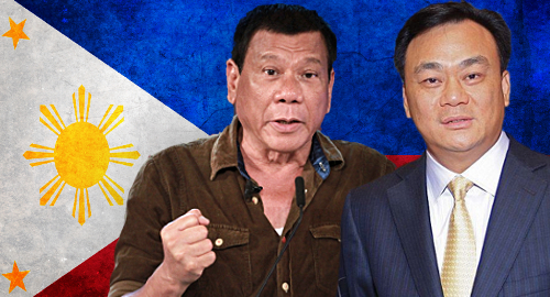 Duterte: Jack Lam can resume Philippine gaming once tax paid