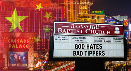 Vegas casino staff fear rising tide of bad-tipping Chinese tourists