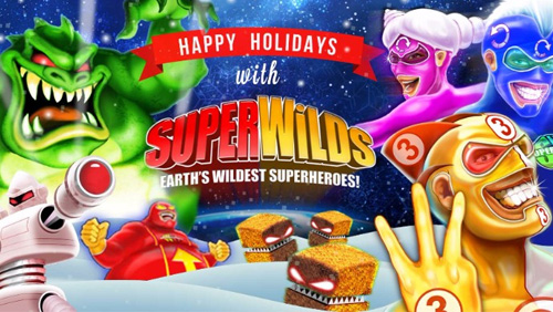 Wishing you a Super Holiday season with SuperWilds!