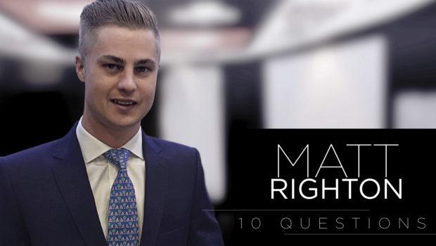 10 Questions – Matthew Righton