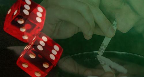 Cocaine addicts make lousy gamblers