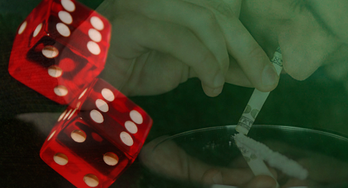 Cocaine addicts make lousy gamblers